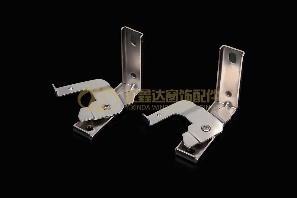 Swivel L Style Metal Bracket For Roman Track