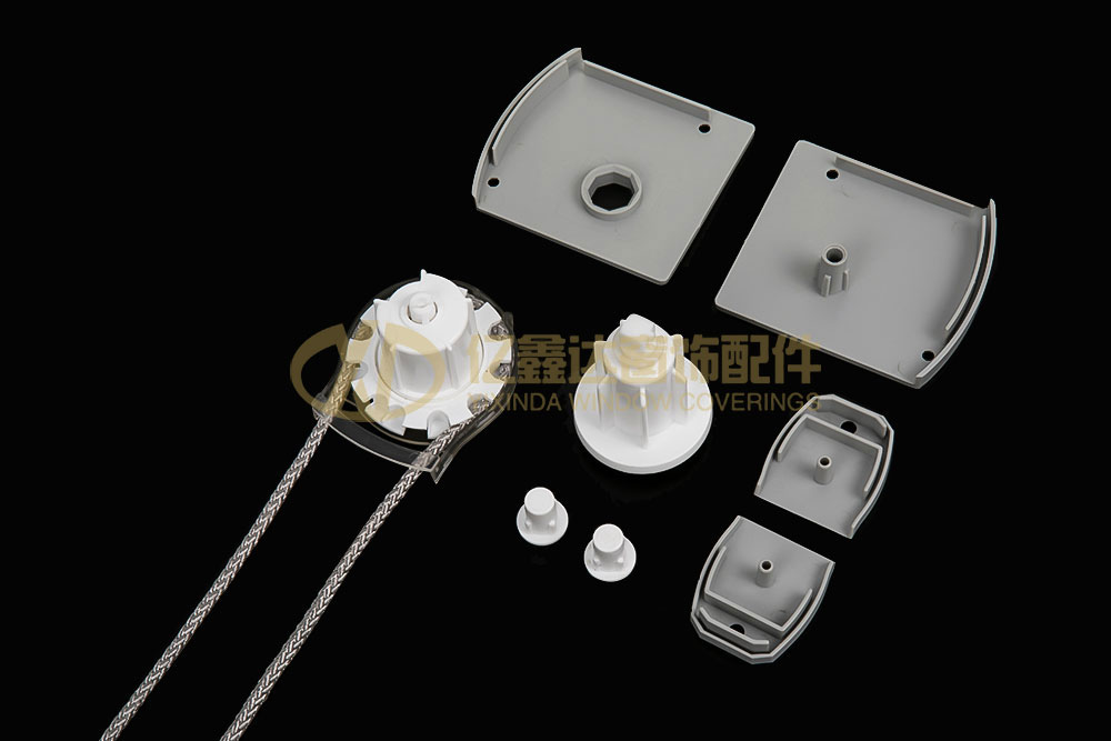 YXD-C012 POM/ABS/IRON 28# Grinding cover fittings
